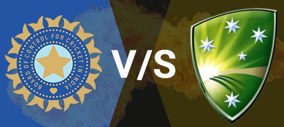 India Australia cricket match prediction