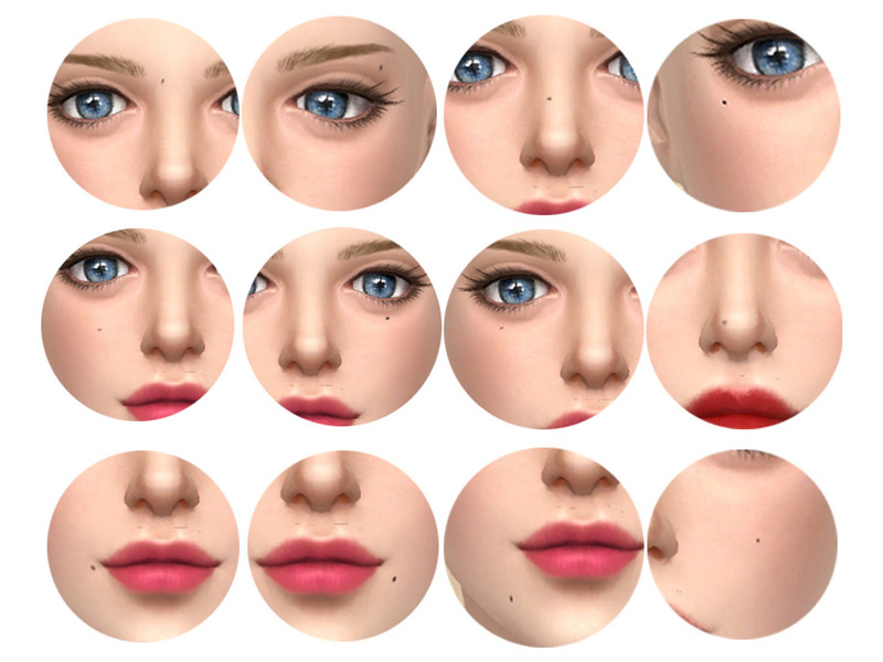 face moles