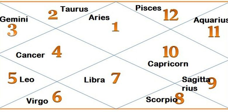 There are 12 astrology houses denoting different aspects of life.