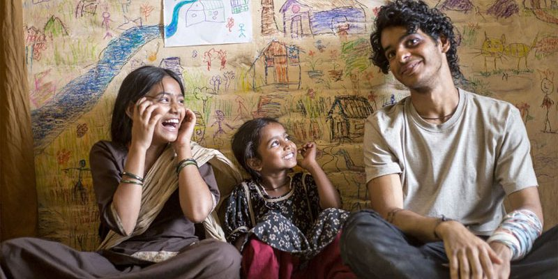Ishaan Khatter is playing lead role in Beyond The Clouds