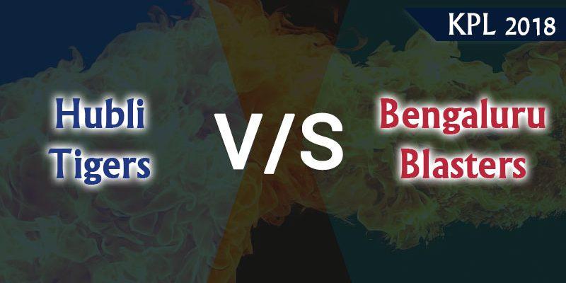 Hubli Tigers Vs Bengaluru Blasters