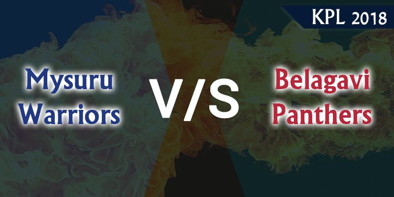 Mysuru Warriors Vs Belagavi Panthers