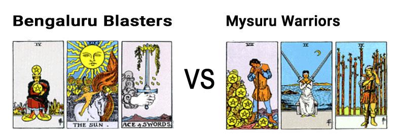 Bengaluru Blasters Vs Mysuru Warriors