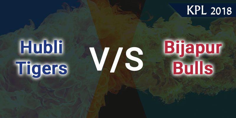 Hubli Tigers Vs Bijapur Bulls