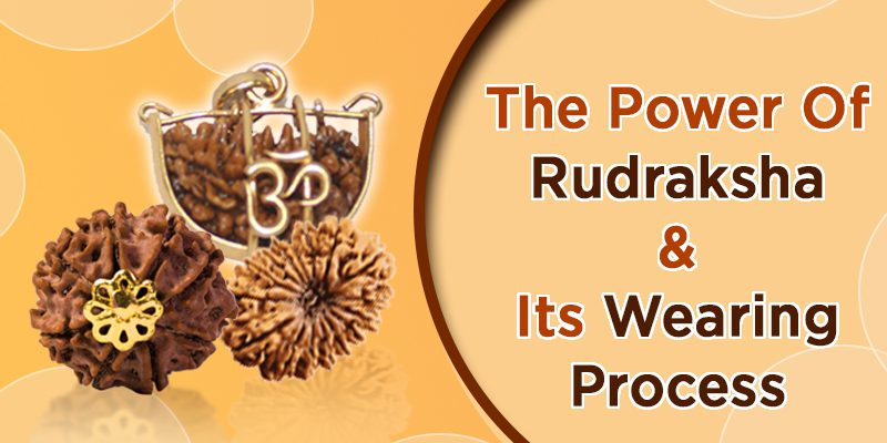 Rudraksha Wearing Process