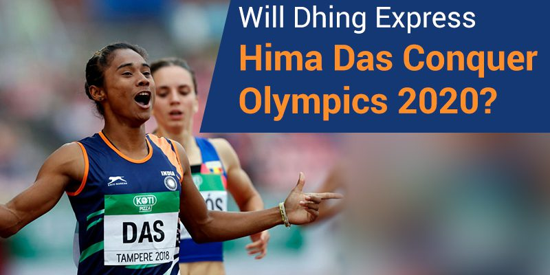 Hima Das in Olympics 2020