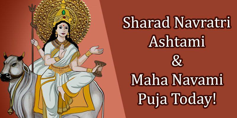 Sharad Navratri Ashtami Navami Puja