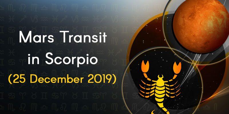 mars transit in scorpio