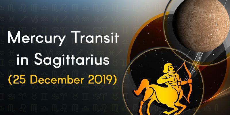 Mercury Transit Sagittarius