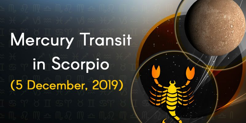 mercury transit in scorpio