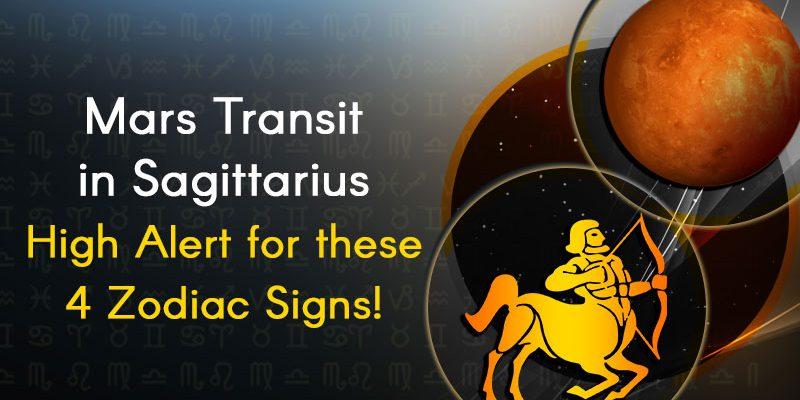 Mars Transit in Sagittarius