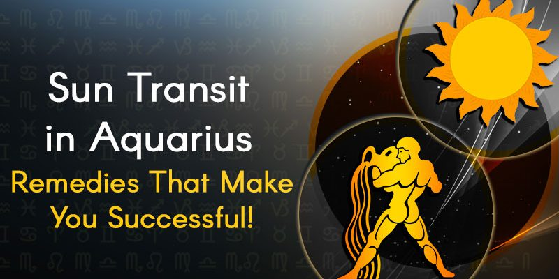 Sun Transit In Aquarius