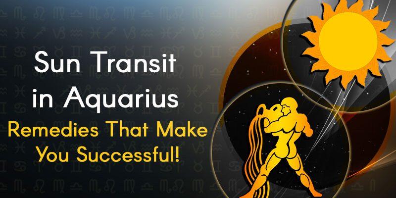 Sun Transit In Aquarius