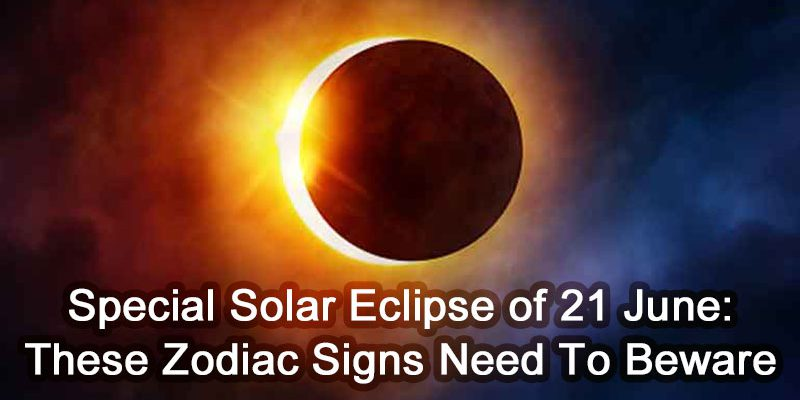 Special Solar Eclipse 21 June