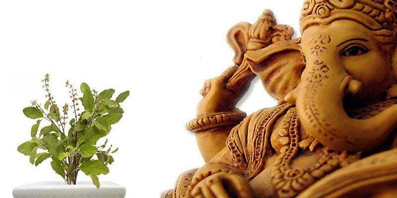bhagwan ganesh ne kiya tulsi ko apni puja se bahiskrit