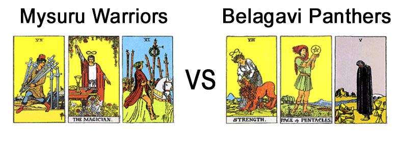 Mysuru Warriors Vs Belagavi Panthers
