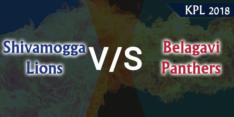 Shivamogga Lions Vs Belagavi Panthers