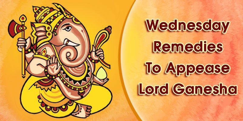 Wednesday Remedies To Appease Lord Ganesha & Eliminate Budh Dosha
