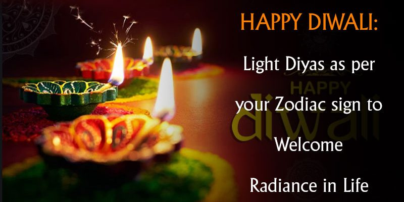 Light Diyas as per your Zodiac sign