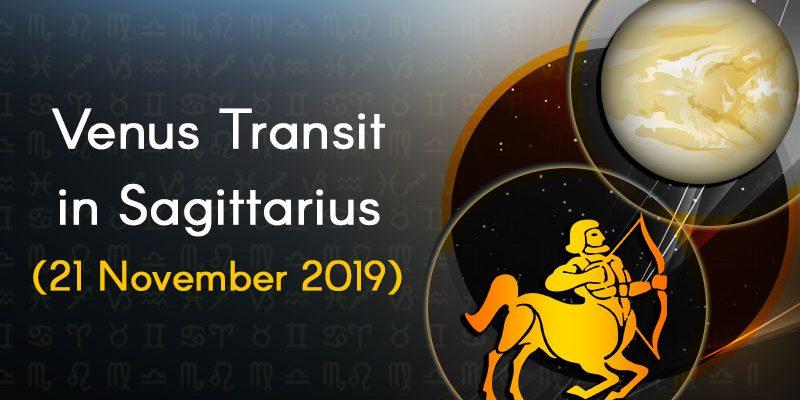 Venus Transit in Sagittarius