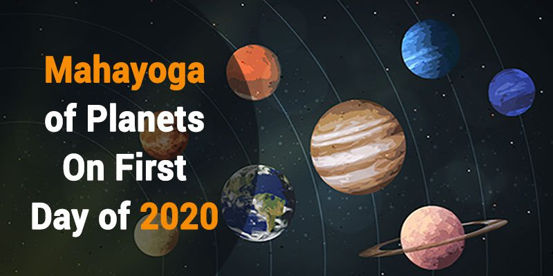 Grand Alliance Of Planets On 1st Jan 2020