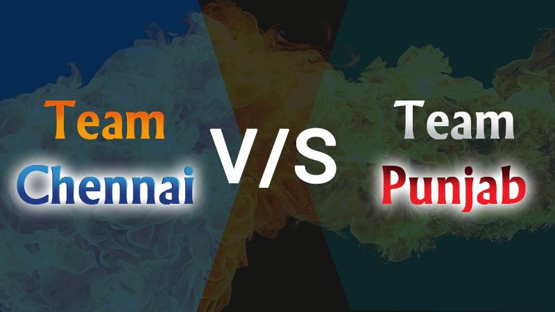 IPL Match 53- Team Chennai vs Team Punjab (01 Nov) Today's Match Prediction