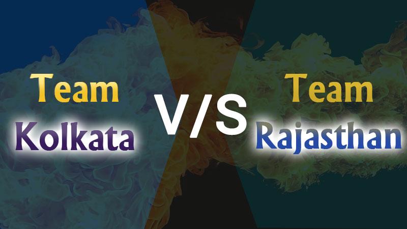 IPL Match 54- Team Kolkata vs Team Rajasthan (01 Nov) Today's Match Prediction