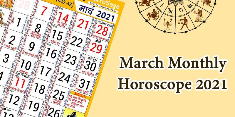 Horoscope Monthly 2021
